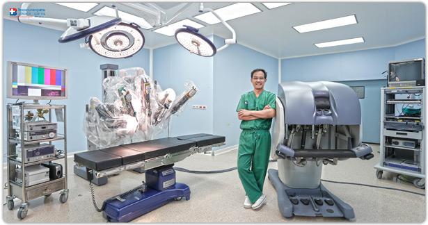 หุ่นยนต์ช่วยผ่าตัด (Robotic Surgery)