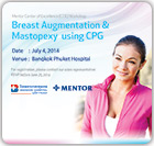 Academic conference Breast Augmentation & Mastopexy using CPG