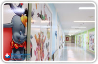Patient Rooms - Ward 4D: Pediatric Room